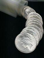 ROLL OF  20  1922 UNCIRCULATED PEACE DOLLARS