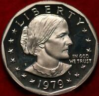 UNCIRCULATED PROOF 1979 S TYPE II CLAD SUSAN B ANTHONY DOLLA