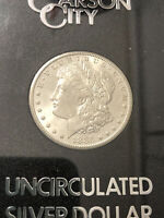 1885 CARSON CITY MORGAN SILVER DOLLAR