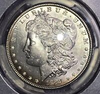 1884 MORGAN SILVER DOLLAR PCGS MINT STATE 64 COLLECTOR COIN. SHIPS FREE