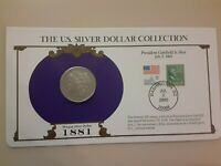 1881 MORGAN DOLLAR & COMMEM STAMP US SILVER DOLLAR COLLECTION . VOLUME DISCOUNTS