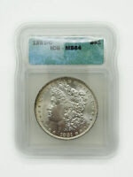 1881-O NEW ORLEANS $1 MORGAN SILVER DOLLAR ICG MINT STATE 64