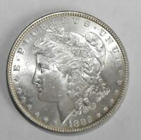 1882 MORGAN SILVER DOLLAR, UNCIRCULATED