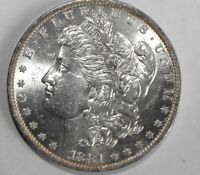 1881-O MORGAN SILVER DOLLAR, UNCIRCULATED