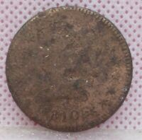 1810/09 CLEANED CLASSIC HEAD LARGE CENT ONE CENT