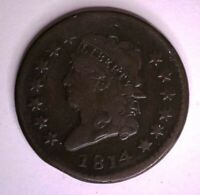 1814 CLASSIC HEAD LARGE CENT - S-295