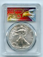 2020 $1 AMERICAN SILVER EAGLE 1OZ PCGS MS70 FS 1 OF 1000 THO