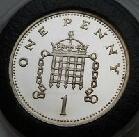 2000 ROYAL MINT SILVER PROOF PENNY SCARCE COIN FROM THE MILL