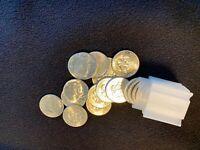 1964 KENNEDY HALF DOLLAR   ROLL OF 20 ALL 90  SILVER