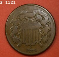 1871 TWO-CENT PIECE