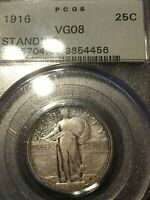 1916 1918/7 S 1919 D 1919 S 1920 D 1921 1923 S 1927 S COMPLETE STANDING LIBERTY