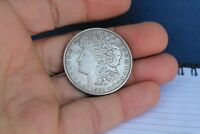 OLD VINTAGE 1921-D UNITED STATES MORGAN SILVER DOLLAR COIN $1