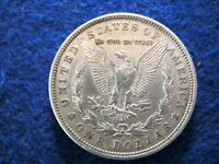 1921 D MORGAN SILVER DOLLAR - BRIGHT, LUSTROUS EXTRA FINE - ONLY D MINT   READ