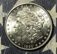 1890-S MORGAN SILVER DOLLAR COLLECTOR COIN. SHIPS FREE