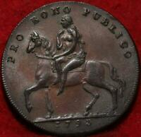 1793 GREAT BRITAIN 1/2 PENNY FOREIGN COIN