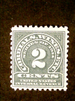 U S STAMPS REVENUES SCOTT RE31 WINE STAMP TWO CENTS PERF 11