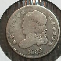 1832 VG CAPPED BUST  HALF DIME