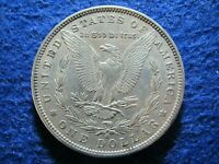 1881 O MORGAN SILVER DOLLAR -  LIGHT TONED ABOUT UNCIRCULATED    READ