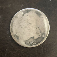 1835-P SILVER CAPPED BUST DIME.
