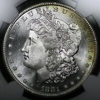 1881-S $1 MORGAN SILVER DOLLAR NGC MINT STATE 67 PLUS GRADE RATE OLD TYPE COIN MONEY