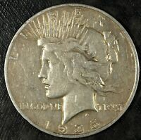 1935 S PEACE SILVER DOLLAR  CIRCULATED  GREAT SET FILLER 407