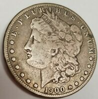 1900-S MORGAN SILVER DOLLAR BETTER DATE, FINE CONDITION,  SHIPS FREE/TRACKING