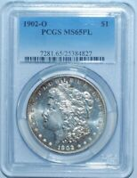 1902 O PCGS MINT STATE 65PL PROOFLIKE MORGAN SILVER DOLLAR