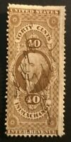 US FIRST ISSUE R53C INLAND EXCHANGE 40C  CAT VAL $8   L1144