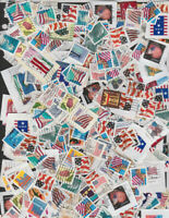 290 DIFFERENT USED PNC SINGLES ON AND OFF PAPER