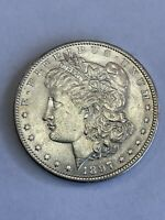 1897 P MORGAN SILVER DOLLAR $1 ABOUT UNCIRCULATED AU A97