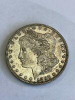 1897 P MORGAN SILVER DOLLAR $1 ABOUT UNCIRCULATED AU A99