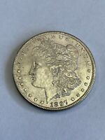 1897 P MORGAN SILVER DOLLAR $1 ABOUT UNCIRCULATED AU A112