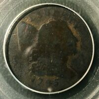 1795 LETTERED EDGE  PCGS  GENUINE  LIBERTY CAP LARGE CENT   S-73 VARIETY R-6