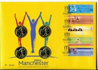 2002 COMMONWEALTH GAMES GREAT BRITAIN ROYAL MINT/MAIL   UK 2