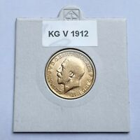 ROYAL MINT KING GEORGE V 22CT GOLD SOVEREIGN YEAR 1912