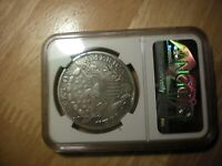 1798 SILVER DOLLAR NGC VF.. SLIGHTLY CLEANED.. LOOK GREAT COIN