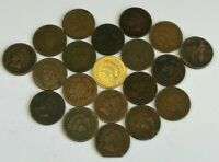 X20 MIXED YEAR INDIAN HEAD CENTS  1858 FLYING EAGLE - 20 PIECE COLLECTION
