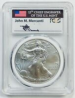 2020-P $1 SILVER EAGLE PCGS MS70 EMERGENCY ISSUE STRUCK AT PHILA. FDI MES
