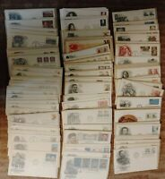 U.S. FDC LOT OF 400 DIFFERENT CACHETED AND UNADDRESSED FROM