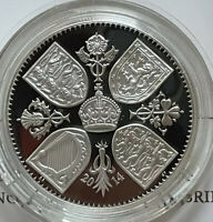 GB 2014 THE FIRST BIRTHDAY OF PRINCE GEORGE SILVER PROOF 5 P