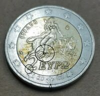 VARIETY  FAMOUS 2 EURO 2002 WITH  S GREECE  DIE CRACK ON FOO