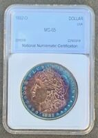 1882-O MORGAN SILVER DOLLAR GEM UNCIRCULATED EXQUISITE COLOR BETTER DATE
