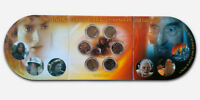 NEW ZEALAND  2003  UNC SIX COIN SET   LORD OF THE RINGS    LIGHT VERSUS DARK