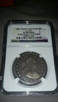1806 BUST HALF DOLLAR NGC EXTRA FINE , POINT 6 NO STEM O-109; MUST SELL MAKE OFFER