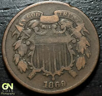 1869 2 CENT PIECE  --  MAKE US AN OFFER  Y2366