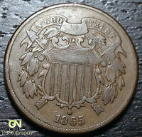 1865 2 CENT PIECE      MAKE US AN OFFER!  Y1830