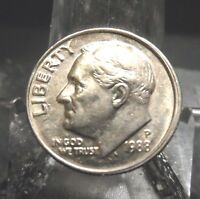 UNCIRCULATED 1988D FDR DIME !!!!!