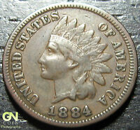 1884 INDIAN HEAD CENT      MAKE US AN OFFER!  G2286