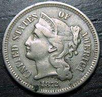1872 3 CENT NICKEL PIECE      MAKE US AN OFFER!  R1325