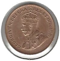 1932 KING GEORGE V CANADIAN SMALL CENTGREAT COIN !!!